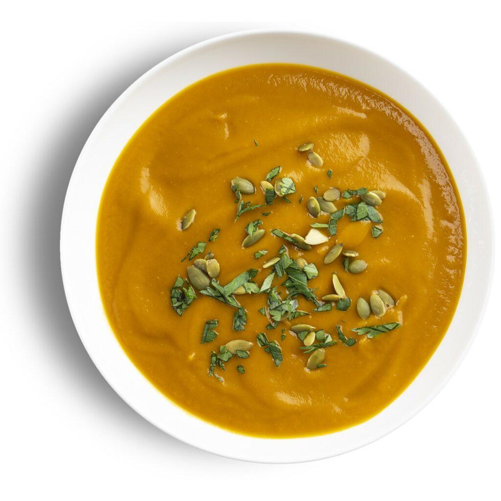 Chipotle Butternut Squash Soup Bowl